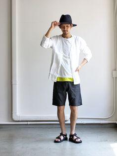 maillot linen shirts cardigan (リネンカーディガン) MAS-126