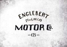 CAFE RACER MOTORCYCLES - CFRC  Hand-lettering & typography