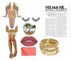 """""""Dashiki Pride"""" by escod on Polyvore featuring Michael Kors, Smashbox, Urban Decay and ABS by Allen Schwartz"""