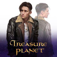 [Treasure Planet Live-Action] Jim Hawkins, b i m a