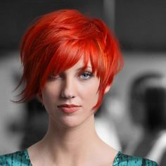 Nearly every color shade is represented in this collection—from pale blonde to raven dark to otherworldly red.