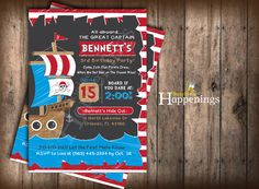 Pirate birthday Invitation Chalkboard Pirate Invitation Ship Birthday Invite Sailing Birthday Digital File by Busy bee's Happenings by BusyBeesHappenings on Etsy https://www.etsy.com/listing/241838736/pirate-birthday-invitation-chalkboard