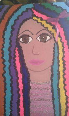 Mi muñeca multicolores  Raimbow  mon doll