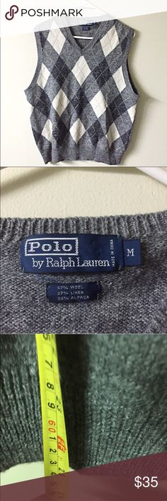 Polo Ralph Lauren alpaca linen wool sweater vest Excellent condition. High quality. Polo by Ralph Lauren Jackets & Coats Vests