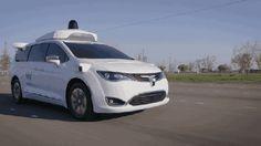 Waymo reveals completely homegrown sensor suite for Pacifica autonomous test car