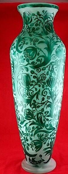 499 Best Vintage Vases Images On Pinterest Vintage Vases Art
