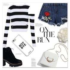 """""""On the run"""" by mycherryblossom ❤ liked on Polyvore featuring Cara"""