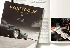 Road Book, a men jetset lifestyle magazine designed by Angus Hyland, Pentagram.