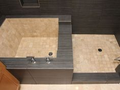 roman bathtub shower design - Google Search