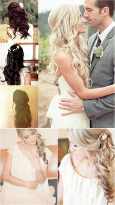 chic and funky wedding hairstyle for girls 2013 with clip on cheap silky wavy blonde hair extension