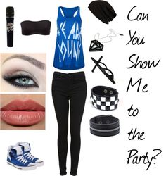 """Can You Show Me to the Party?"" by just-a-breakable-thread ❤ liked on Polyvore"