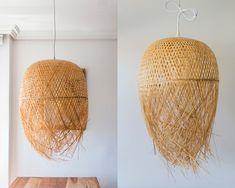 Tendencia: lámparas de bambú y mimbre   Ebom