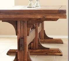 Best DIY Projects For Home Decorating: DIY Dining Table and Benches