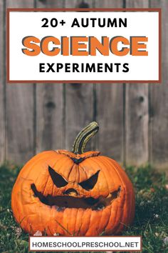 Pumpkins, apples, leaves, and more! Come discover 20 engaging fall science experiments for preschoolers! Hands-on learning for the season. #preschoolscience #fallscience #scienceexperiments #homeschoolprek Science Experiments For Preschoolers, Autumn Activities For Kids, Cool Science Experiments, Preschool Science, Hands On Activities, Stem Activities, Educational Activities, Hands On Learning, Preschool Printables