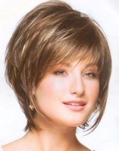 Short Layered Hairstyles For Fine Hair Layered Bob Haircuts For Fine Hair Short Haircuts For Fine Hair Short Layered Hairstyles For Fine Wavy Hair Bob Haircut For Fine Hair, Wedge Hairstyles, Bob Hairstyles For Fine Hair, Short Hairstyles For Women, Short Haircuts, Hairstyles 2016, Haircut Short, Short Bangs, Ladies Hairstyles