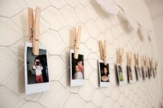 Instax display on my chicken wire wall. | Flickr - Photo Sharing!