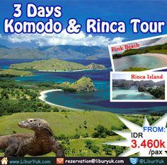 Yuk nikmati keeksotikan dari #pulau #Komodo dan Pulau #Rinca yang dihuni oleh binatang purba jaman dinosaurus yang masih hidup hingga saat ini yaitu Komodo. Kini tersedia paket 3 Hari Komodo & Rinca Tour dengan harga terjangkau.Buruan sebelum kehabisan !  Dapatkan Spesial Paket tersebut dari #LiburYuk http://liburyuk.com/bookpackage/1428/2014-06-14/2/2/0/1/package/3-days-komodo-%26-rinca-tours-%28-1n-at-local-boat-%26-1n-at-hotel%29 #AbbeyTravel #jalan2 #holiday