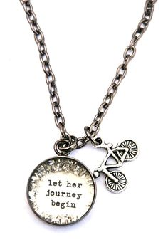 For the friend who loves to travel and is eager to see the world, give her Let Her Journey Begin: