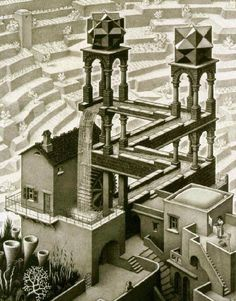 I love Escher's art.
