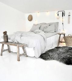 16 Relaxing Scandinavian Bedroom Design Ideas - Best Home Remodel Dream Rooms, Dream Bedroom, Home Bedroom, Bedroom Decor, Bedroom Inspo, Master Bedroom, Interior Design Minimalist, Bedroom Styles, Beautiful Bedrooms