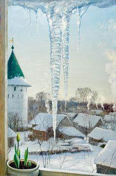 Эвгений волобуэв зима картинки