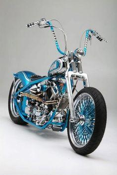 Visit The MACHINE Shop Café... ? Best of Bikes @ MACHINE ? (Harley ? Davidson Motorcycles): Cars Motorcycles, Chopper Motorcycle, Blue Motorcycle, Motorcycles Choppers, Custom Bike, Harley Davidson Motorcycles, Harleys Motorcycles, Bikes Cars