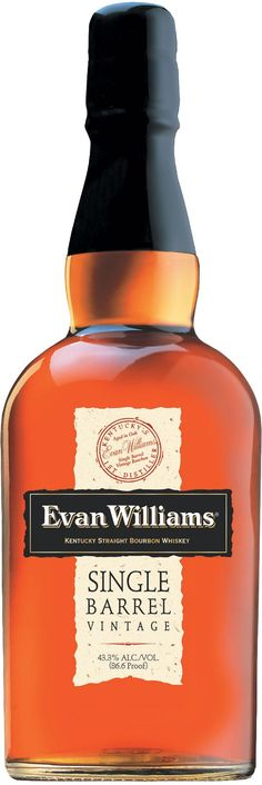 """Evan Williams Single Barrel Vintage 2006 Bourbon Whiskey 
