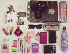 what's in my  bag? by Camdiluv ♥, via Flickr