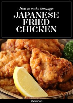 This Japanese fried chicken will ruin you for its American cousin - Dinner - Chicken Recipes Fried Chicken Breast, Crispy Fried Chicken, Fried Chicken Wings, Fried Chicken Recipes, Chicken Karaage Recipe, Roasted Chicken, Filipino Fried Chicken Recipe, Curry Fried Chicken, Gourmet Chicken