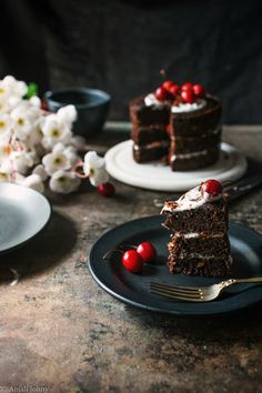 Who doesn't love a good old chocolate cake? I mean, come on! Throw in some cherry liqueur, fresh cherries and whipped cream and I'm soldddd!! You need to make this cake for the next bir…