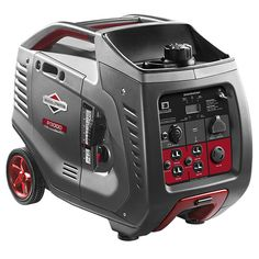 Briggs & Stratton 3000 Watt Inverter Generator - Never go without power thanks to the Briggs & Stratton 3000 Watt Inverter Generator . This portable inverter generator is compact and powerful,. Best Portable Generator, Camping Generator, Portable Inverter Generator, Power Generator, Diy Generator, Camping Ideas For Couples, Camping Hacks With Kids, Rv Camping, Glamping