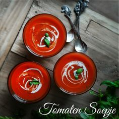 Recipe Tomatosoup #Tomaten #Soep by Little Foods