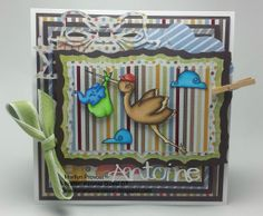 Hello! Here is my Guest DT card for the Anything Goes Challenge at Kraftin' Kimmie Stamps! I used the A mother's love stamp set! It is my favorite set for baby cards!!! Thanks for looking!