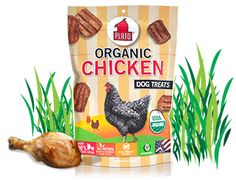 Plato Dog Treats - Organic Chicken - My dog loves these more than real chicken!