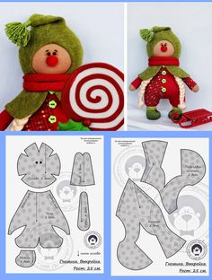Details about Christmas cuddly Gingerbread Man Shelf Sitter with beaded legs plush mantelpiece Craft Patterns, Doll Patterns, Sewing Patterns, Christmas Sewing, Christmas Crafts, Christmas Gnome, Sewing Crafts, Sewing Projects, Doll Tutorial