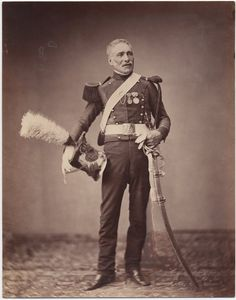 Monsieur Dreuse of 2nd Light Horse Lancers of the Guard, c. 1813-14 Image: Brown University Library c. 1858: Photos of Veterans of the Napoleonic Wars