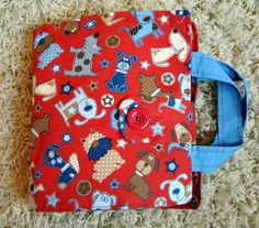 Little Boy Quiet Book  - Top on my list to make for newest Grandson