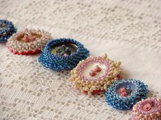 Beaded Buttons = Awesome