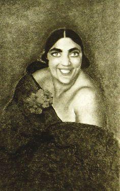 Ritratto di Angelika Kravčenko, 1927