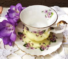 Royal Albert Teacup and saucer Bone China Made by LoveCareHandmade
