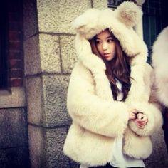 8 Best bear hoodie images   Bear hoodie, Fashion, Faux fur