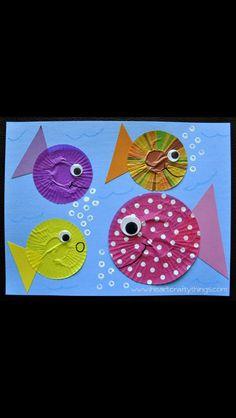 Cupcake Case Fish