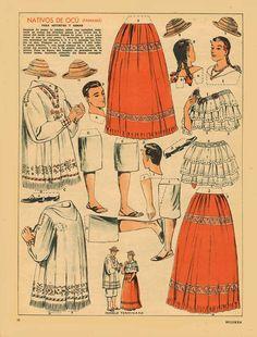 Billiken.-Nativos-de-Ocú-(Panamá).--Revista-Billiken-[AR]-1948