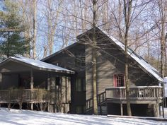 Chalet vacation rental in Thompsonville from VRBO.com! #vacation #rental #travel #vrbo