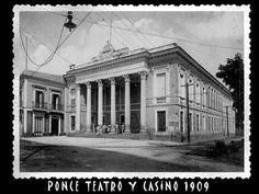 Ponce Teatro y Casino, 1909, via Flickr.