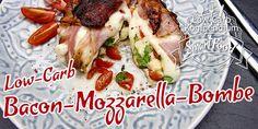 Low-Carb Bacon-Mozzarella-Bombe