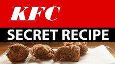 KFC Secret recipe accidentally revealed!  Watch how to make it! - YouTube