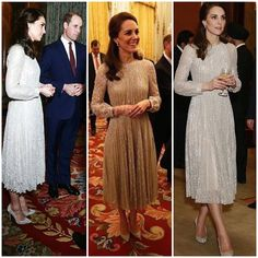 Kate middleton Duchess of cambridge at the India deplomatic reception at Buckingham palace this evening