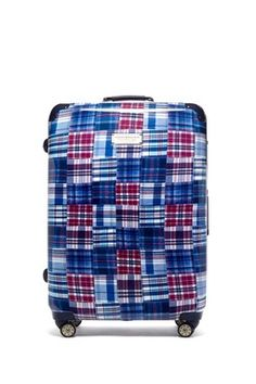 e31650511e Palm Spring Plaid Hardside Spinner by Tommy Hilfiger on
