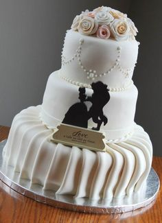 And have a timeless cake that shows the power of love.